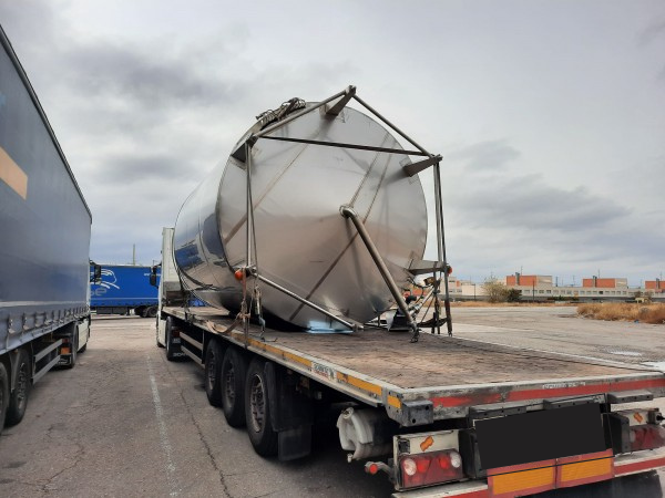 Transporte de depósitos con medidas especiales de Morarte Logistics
