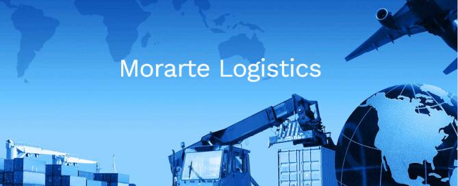 imgen corporativa de morarte logistics dónde se ve un avión, un camión y un buque que son los tres tipos de cargas que hace la empresa.