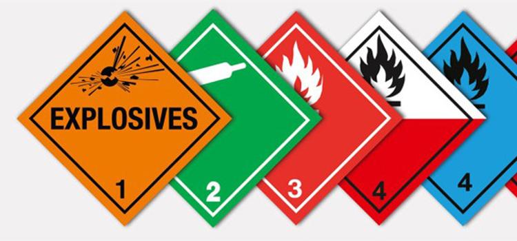 señalización de transporte de mercancía peligrosa aereos blog de Morarte Logistics sl
