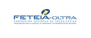 Logo de Feteia, Federación española de transitarios